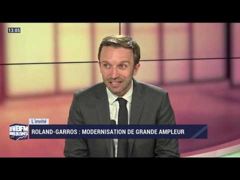 Roland-Garros : modernisation de grande ampleur - 25/05