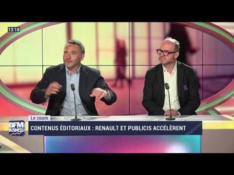 Le Zoom: Renault et Publicis accélèrent dans les contenus éditoriaux - 25/05