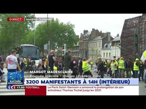 Gilets jaunes, acte 28 : des tensions à Amiens