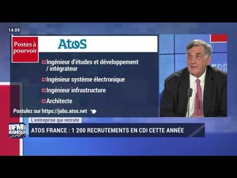 L'entreprise qui recrute: 1 200 postes à pourvoir chez Atos - 25/05