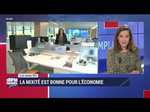 Les news RH: La mixité est bonne pour l'économie - 25/05