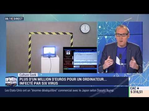 Anthony Morel: Plus d'un million de dollars pour un ordinateur infesté de virus - 27/05