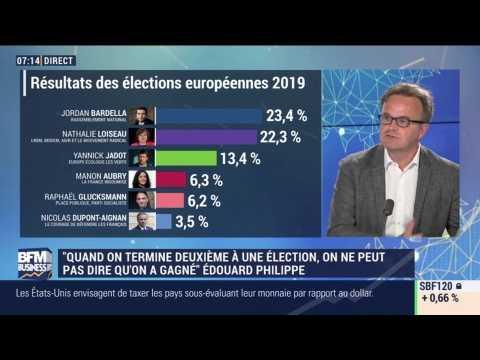 """""""Le rapport de force qui se déduit de ces élections est très favorable à LREM"""", François Miquet-Marty - 27/05"""