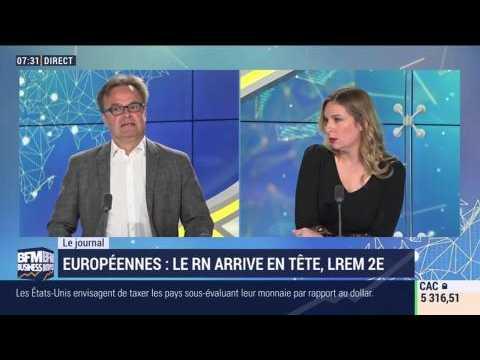 Européennes: le RN arrive en tête, LREM 2ème - 27/05