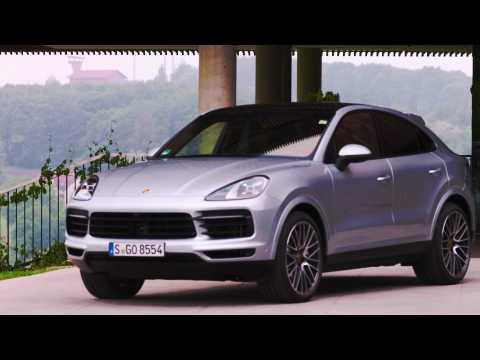 Porsche Cayenne S Coupé Design in Dolomite silver