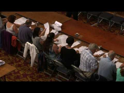EU election vote counting underway in Southampton