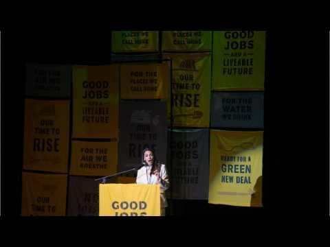Ocasio-Cortez Promotes Green New Deal Through Gardening Journey