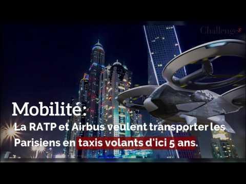 Mobilité: La RATP et Airbus veulent transporter les Parisiens en taxis volants d'ici 5 ans