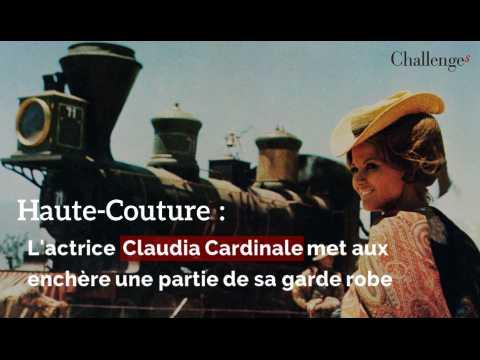 Haute couture: L'actrice Claudia Cardinale met aux enchères une partie de sa garde robe