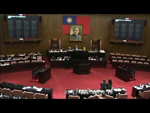 Taiwan's parliament approves same-sex marriage
