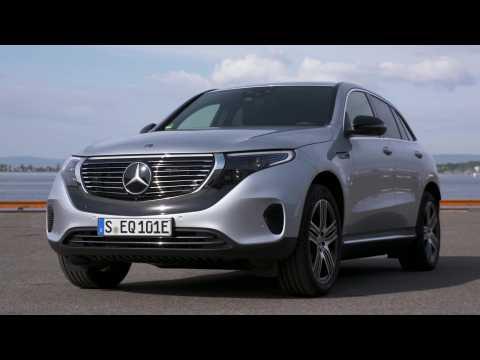 Mercedes-Benz EQC 400 4MATIC high tech silver metallic Design