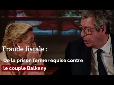 Fraude fiscale: de la prison ferme requise contre les Balkany