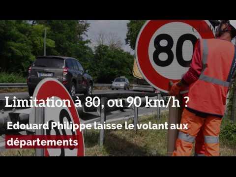 80 ou 90 km/h ? Edouard Philippe laisse le choix aux départements