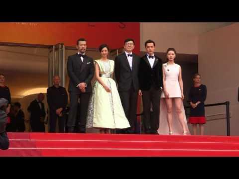 Cannes 2019: 'Wild Goose Lake' cast walk red carpet