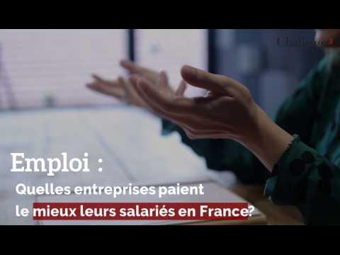 Emploi : Quelles entreprises paient le mieux leurs salariés en France ?