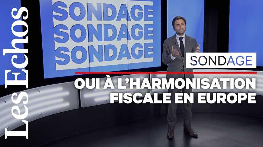 Illustration pour la vidéo Les Français veulent davantage d'harmonisation fiscale en Europe