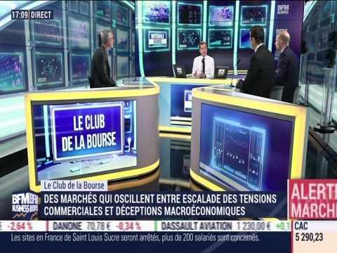 Le Club de la Bourse: David Ganozzi, Florent Delorme, Thomas Friedberger et Andréa Tueni - 23/05