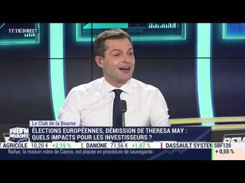 Le Club de la Bourse: Axel Botte, Nicolas Brault, Christian Mariais et Vincent Ganne - 24/05