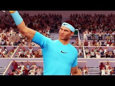 "TENNIS WORLD TOUR ROLAND GARROS EDITION ""Nadal"" Trailer (2019) PS4 / Xbox One / PC"