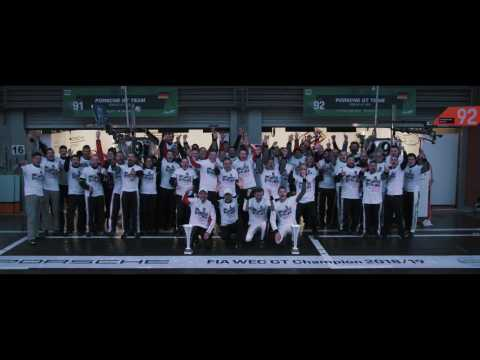 Porsche finishes on podium at Spa and claims early world championship title