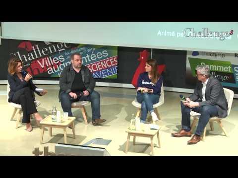 [SOMMET DES STARTUPS] DATA AND THE CITY : LES DONNEES AU SERVICE DES CITOYENS