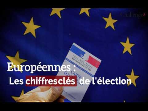 Européennes : Les chiffres clés de l'élection