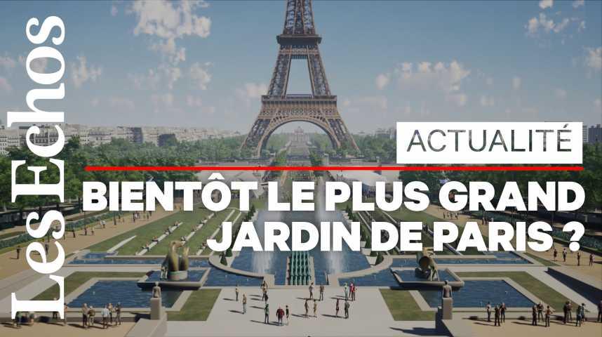 Illustration pour la vidéo Un nouveau poumon vert pour le cœur de Paris
