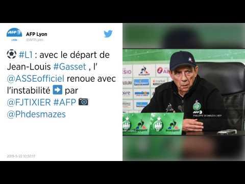 Ligue 1. Jean-Louis Gasset quitte officiellement l'AS Saint-Etienne