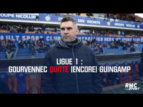 Ligue 1 : Gourvennec quitte (encore) Guingamp