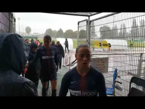 Chauny : PSG/Reims interrompu suite à une averse de grêle.