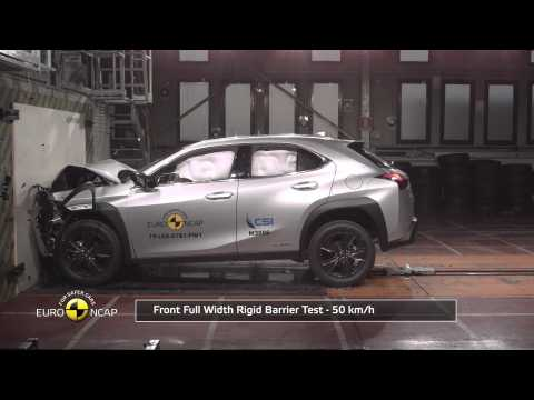 Lexus UX - Crash Tests 2019