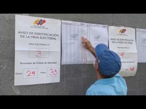 Venezuela votes in legislative election amid social and political distancing