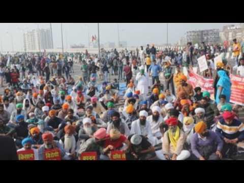 Farmers across India protest against farm reforms