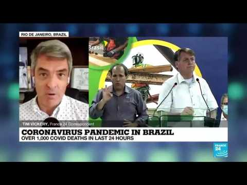 Brazil daily Covid-19 deaths break 1,000 as Supreme Court opens door to mandatory vaccines