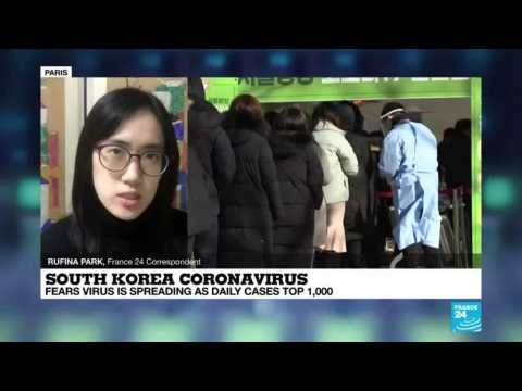 Coronavirus in South Korea: Fears virus is spreading as daily cases top 1,000