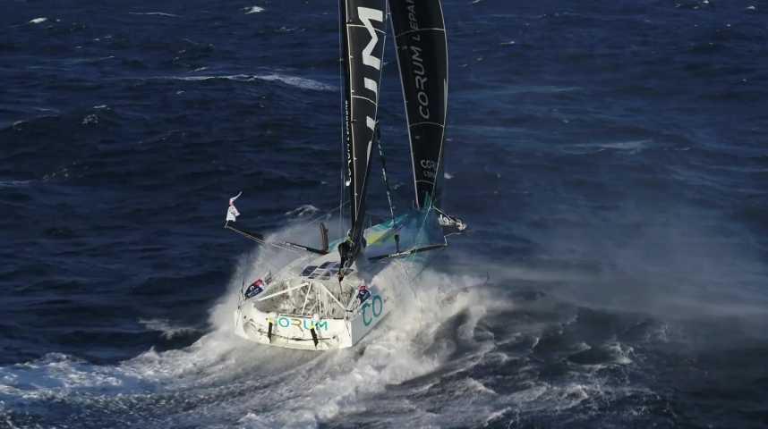 Thumbnail Gouesnac'h : il habille les bateaux de course