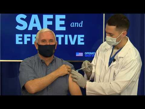 Mike And Karen Pence Receive COVID-19 Vaccine (1)