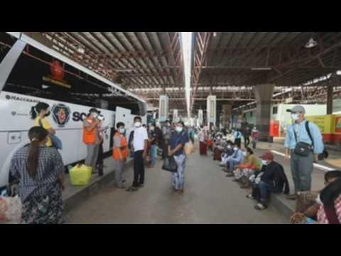 Rakhine residents in Myanmar return home thanks to Yangon authorities deal