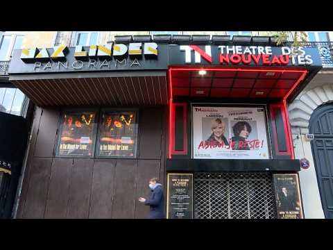Paris court to decide on closure of theatres and cinemas amid pandemic