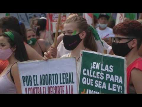 Argentina waiting to learn if Senate approves bill legalizing abortion