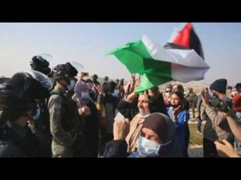 Protests in West Bank over Palestinian left quadriplegic by Israel shooting