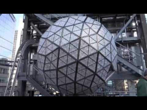 Times Square Ball prepares for New Year's Eve