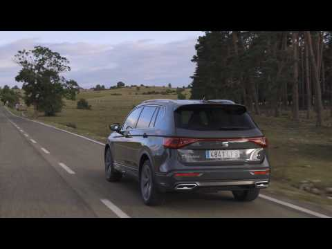 SEAT Tarraco in Dolphin Grey Driving Video