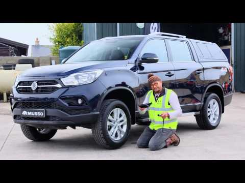 SsangYong – Changing a tyre