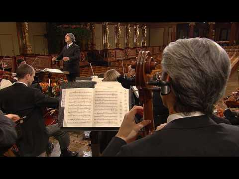 Vienna Philharmonic lifts spirits with iconic New Year's Concert