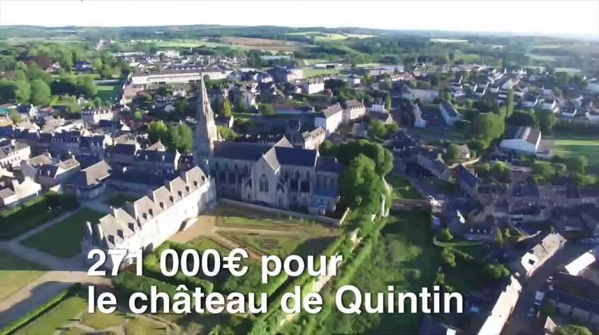 Thumbnail Loto du patrimoine : 271 000€ pour le château de Quintin