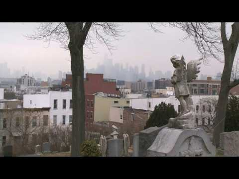 New York: Scene at Green-Wood Cemetery as Covid-19 world death tally reaches two million