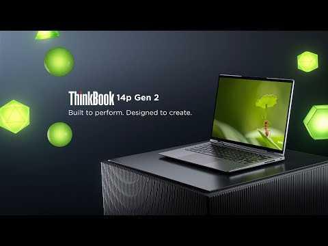 Lenovo ThinkBook 14p Gen 2 Product Tour