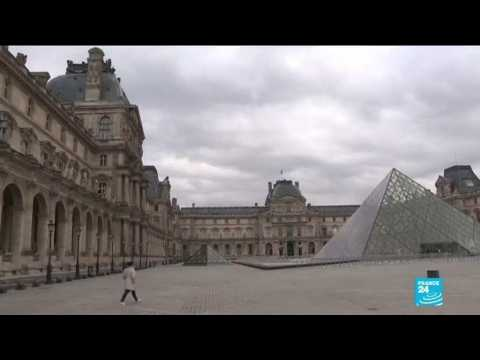 Paris's Louvre takes advantage of lockdown to carry out renovations