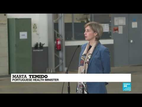 """""""A symbol of hope"""": German military aid arrives in Portugal to help fight pandemic"""